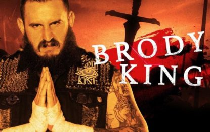 Brody king On Why He Wouldn't depart His full Time Job To signal With WWE
